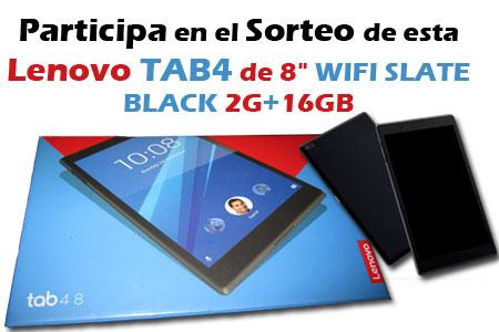 """Sorteo de una Lenovo TAB4 de 8"""" en Alumno Aventajado"""