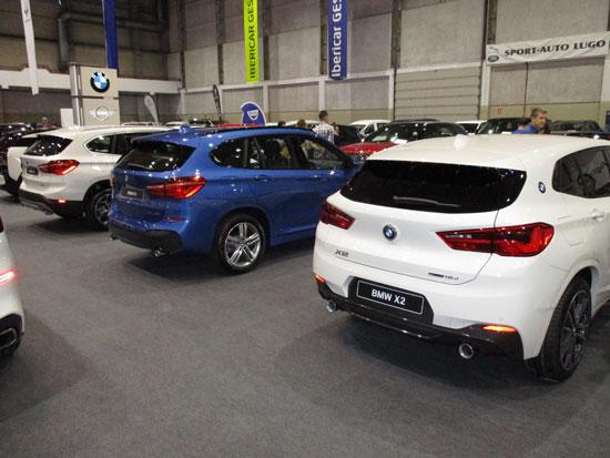 BMW en el Salón del Automóvil de Lugo.