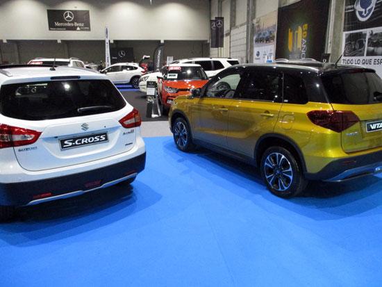 Suzuki S-Cross y el Nuevo Vitara.
