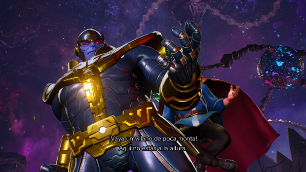 Thanos en Marvel vs. Capcom: Infinite