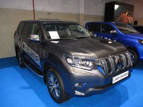 Toyota Land Cruiser en el Salón del Automóvil de Lugo 2018