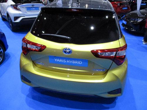 Toyota Yaris Hybrid en en el Salón del Automóvil de Lugo 2019.