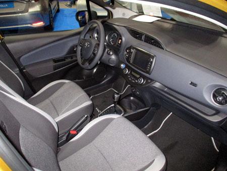 Toyota Yaris Hybrid en el Salón del Automóvil de Lugo 2019.
