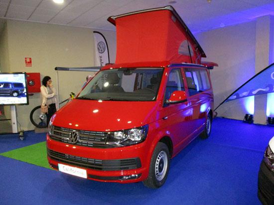 Volkswagen California en el Salón del Automóvil de Lugo 2019.
