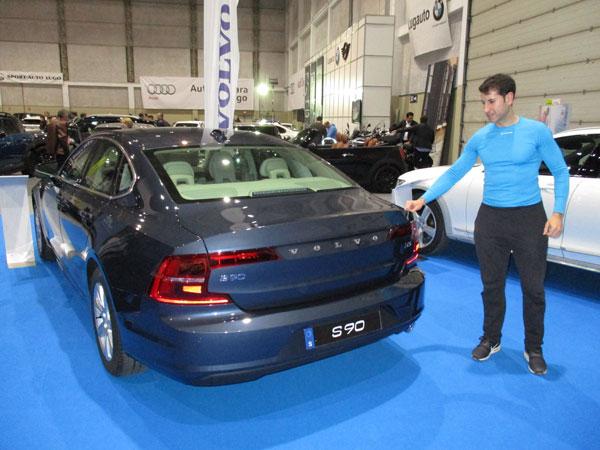 Volvo S90 en el Salón del Automóvil de Lugo 2019.